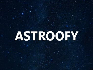 ASTROOFY Mobile Application