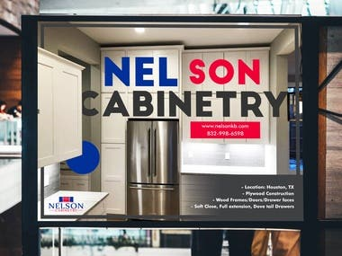 Nelson Cabinet Poster
