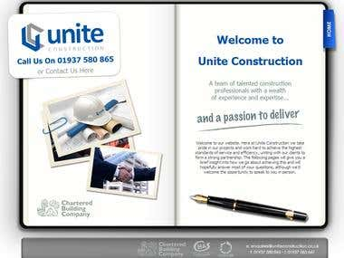 Unite Construction Website