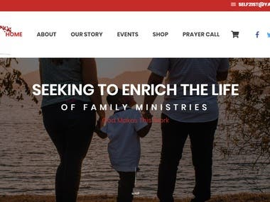 Seeking Toenrich Thelifeof Family Ministries