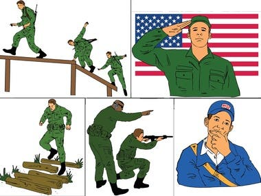 Images for Animation for Army recruitment office