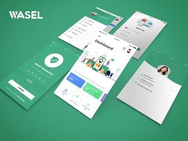 Wasel App Design