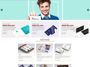 Woocommerce Print Card