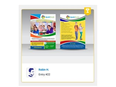 Create a A5 flyer for tutoring school