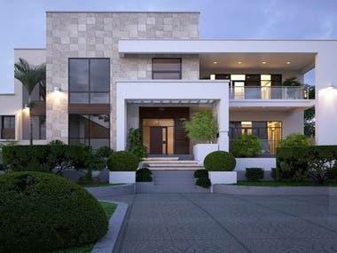 elevation villa
