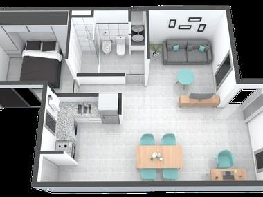 Design and construction of apartments