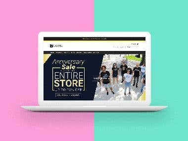 Florida Vibez Store Design