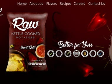 RAW WEBSITE