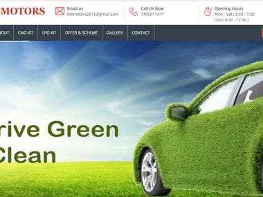 cng booking website