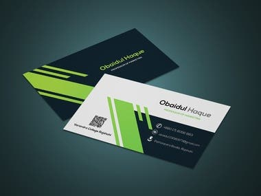New Business Card Model Design
