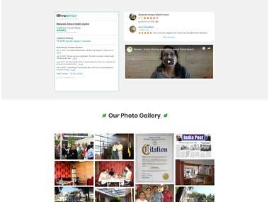 Maharshi Atreya - Wordpress Website