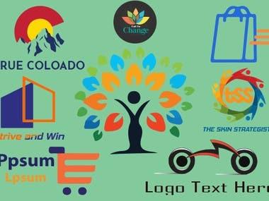 Modern and creative logo designe