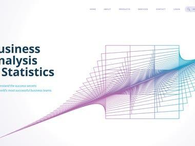 Abstract Web Design, Creative Design