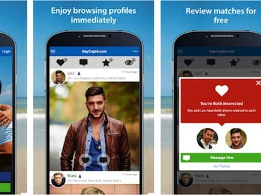 Gay Dating App (Ionic)
