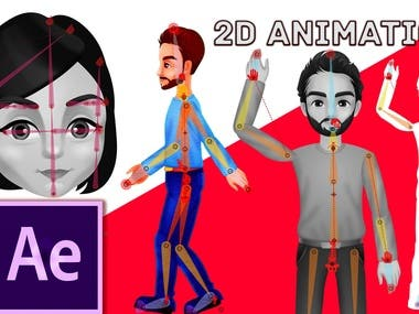 2D Animation Tutorial in Adobe After Effects
