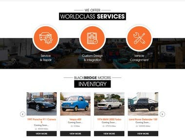 http://www.blackbridgemotors.com - Wordpress