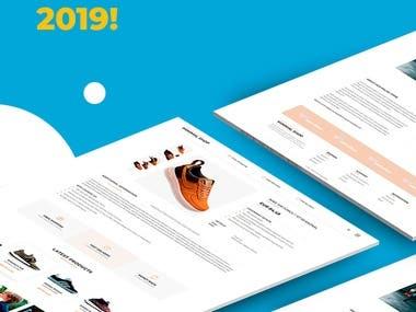 WebFullSet MinimalShop EBay Template