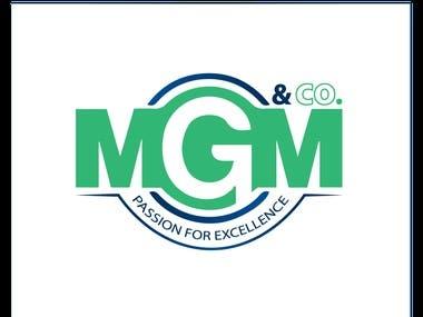 MGM Tax Accountants Logo Design