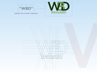 WebHosting Company Logo Design