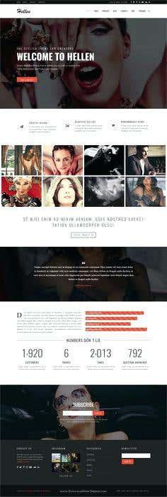 Responsive mobile friendly parallax website
