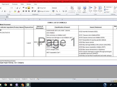 Data Extraction from Audit Reports