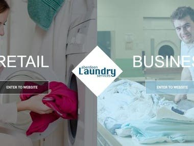 Laundry Services Web