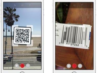 Bar Code and QR Code Reader