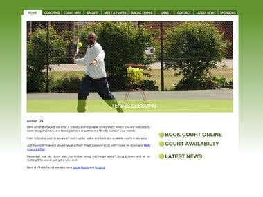 Tennis Court Booking & Social Site