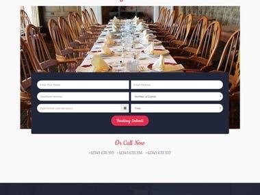 Tasty Kitchen Events Website