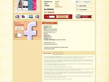 Website Design Of Magento Formate:
