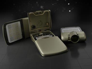 Modelado 3d y Renderizado de diseño de producto industrial