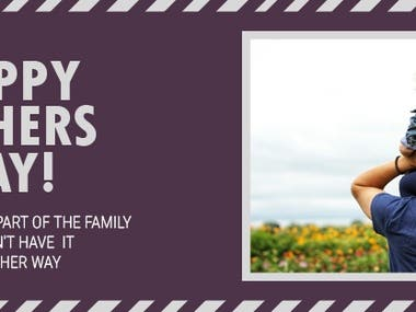 Fathers Day Facebook Cover