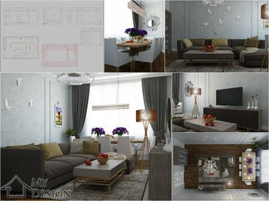 INTERIOR DESIGN & 3D VISUALIZATION