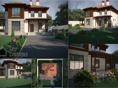 EXTERIOR DESIGN & 3D VISUALIZATION