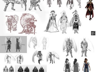 Character design expamples 1