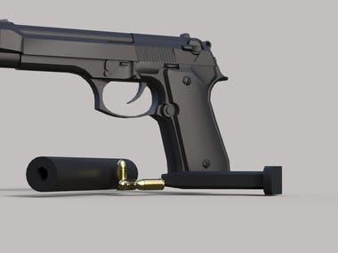 Pistol design