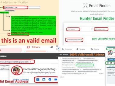 100% Mail Verify