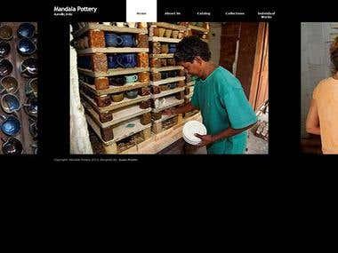 mandalapottery.com