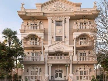 Mohammed Salem Building. New Cairo