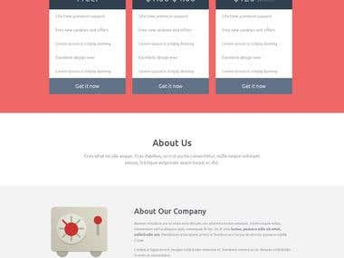 Samplw Work, WP, Joomla and HTML Templates