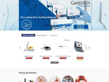 Magento E commerce Website