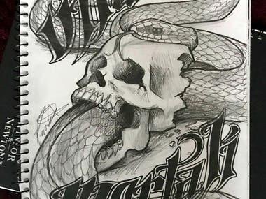 Avante Garde Tattoo Design