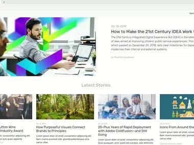 Blog Site - Video Presentation.