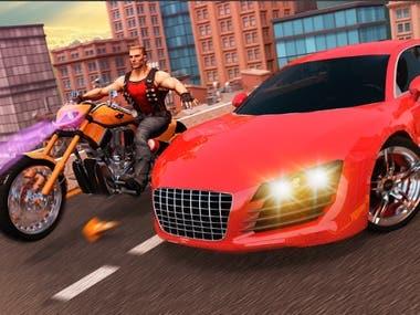 Grand gangster city crime vegas 3d