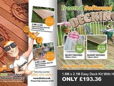 eDecks - Make your Garden Smile