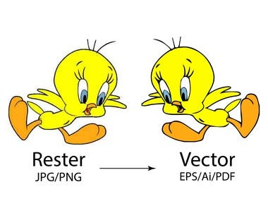 Raster to Vector Convert