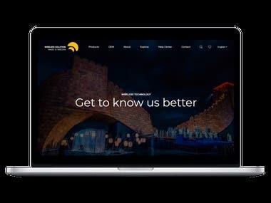 DMX Music Technology | PSD to WordPress