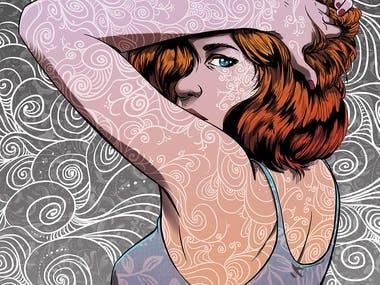 Girl illustration