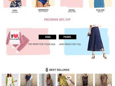 Eccomerce websites