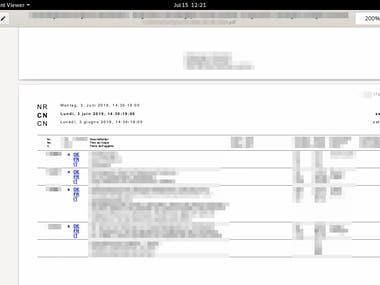 PDF Scraping
